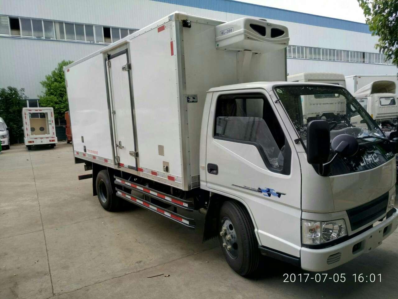 江铃顺达宽体4米2冷藏车-江铃顺达4米2冷藏车价格