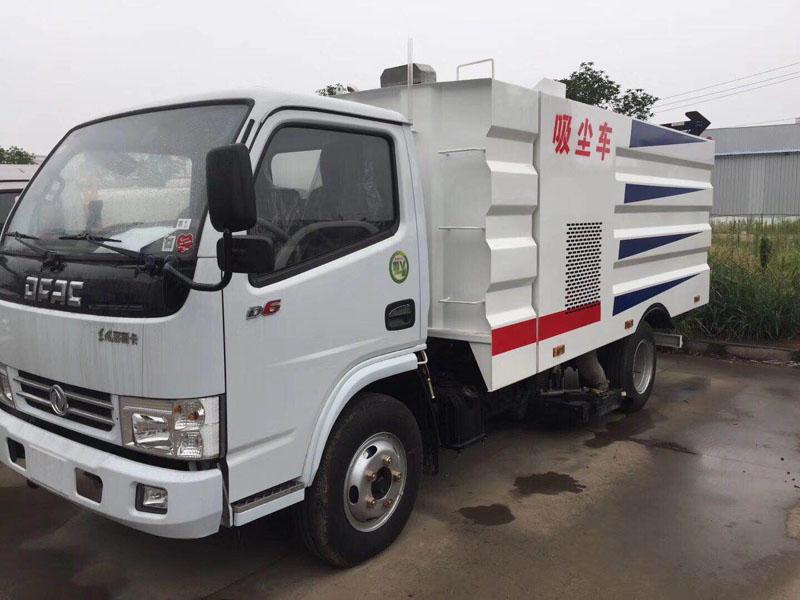 国五东风小多利卡D6水泥厂专用吸尘车