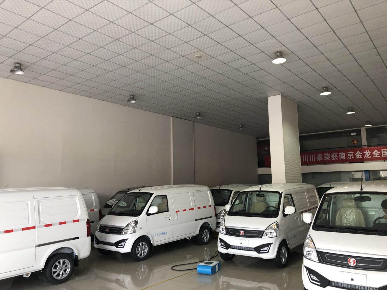 四川成都新能源纯电动面包车、箱式货车、图片、品牌