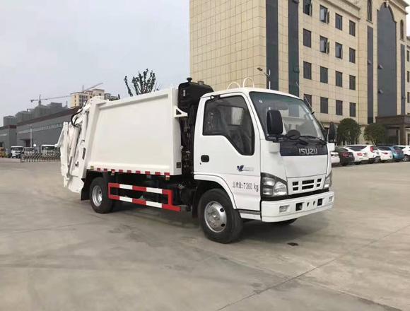 3吨东风压缩式垃圾车价格-3吨五十铃压缩式垃圾车多少钱