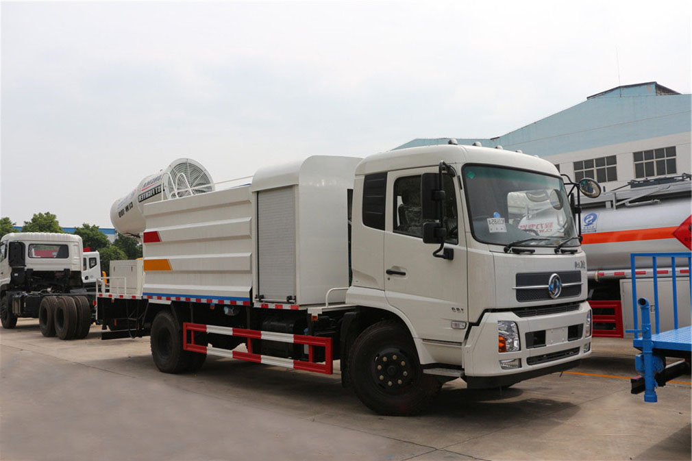 东风天锦10吨多功能抑尘车,雾炮车,喷雾洒水车多少钱