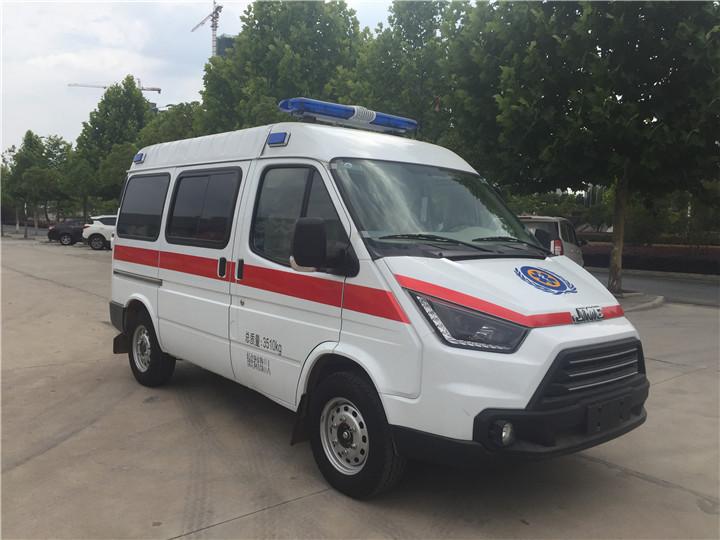 江铃特顺长轴救护车生产厂家报价