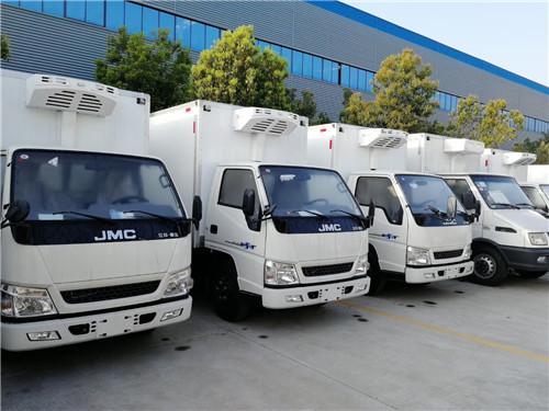 4.2米小型蓝牌江铃顺达、福田、五十铃、长安微型冷藏车最低价格