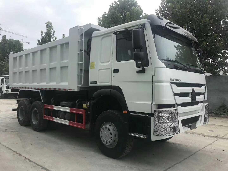 豪沃国二5.6米自卸出口车