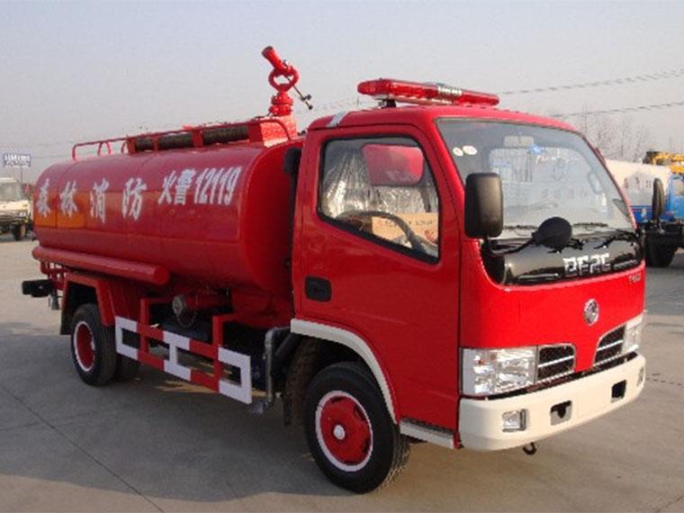 东风4吨消防洒水车价格