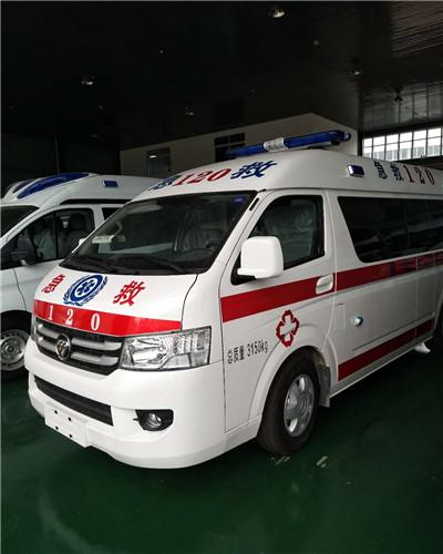 福田救护车厂家在哪里?