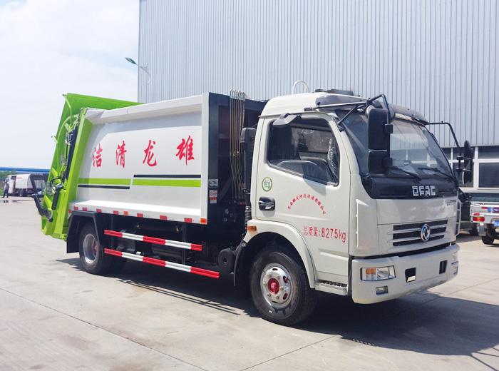 3吨5吨8吨10吨压缩式垃圾车价格