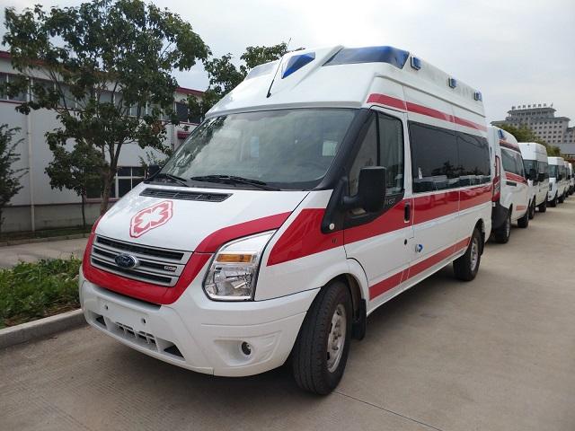 福特V348高福星顶救护车报价