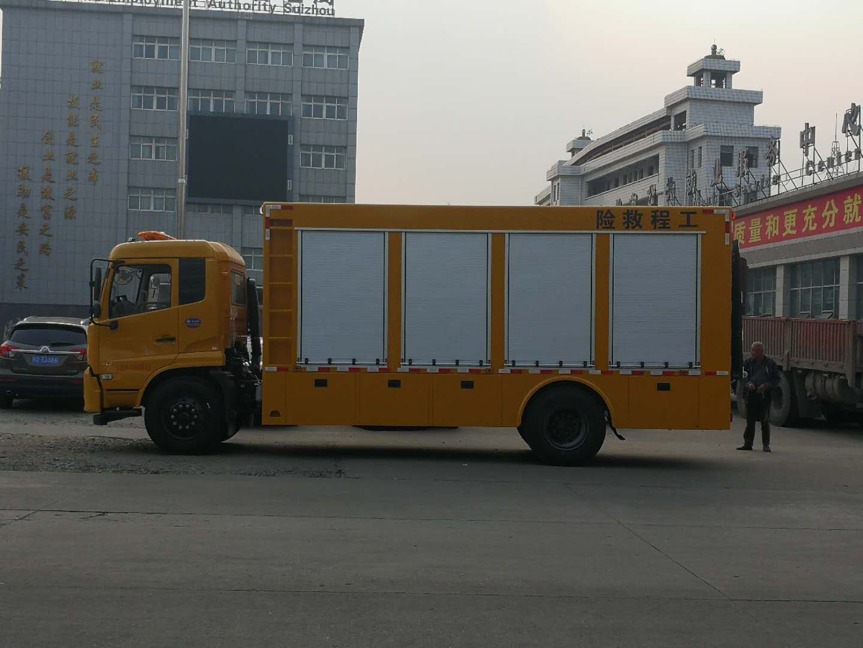 东风天锦工具救援车-东风天锦地铁抢险车-东风天锦工程抢险车价格