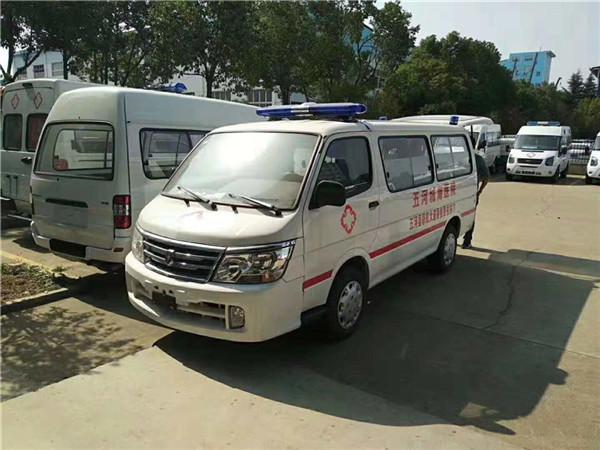 金杯海狮监护型急救车配置图片报价表