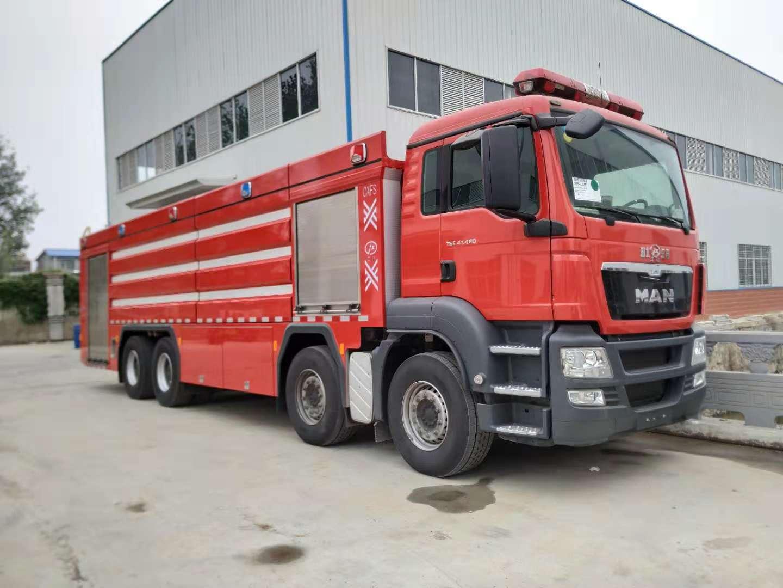 曼的骄傲!世界瞩目的CAFS压缩空气泡沫消防车灭火演练圆满成功!
