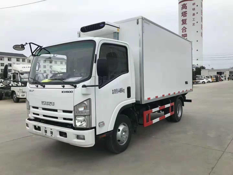 冷藏车厂家,福田欧马可4.2米厢式冷藏车