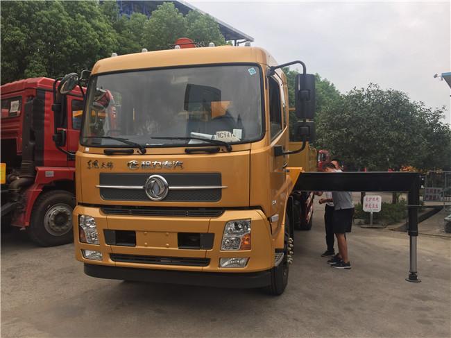 东风天锦随车吊徐工牌XZJ5120JSQD5型随车起重运输车