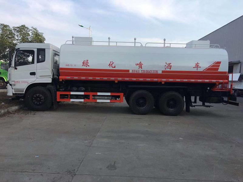 22吨东风专底玉柴240马力热水运水车