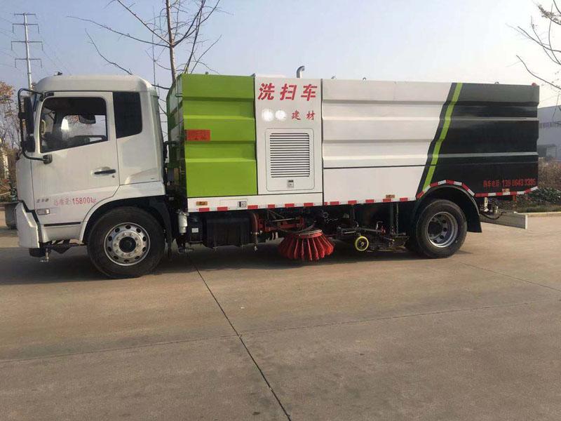 东风天锦新款9吨洗扫车价格