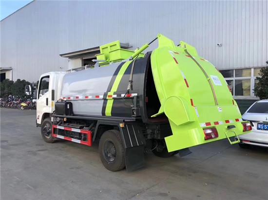 餐厨垃圾车厂家在哪里,餐厨垃圾车多少钱一辆