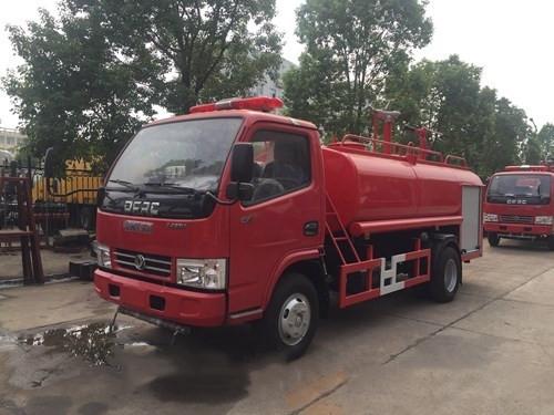 国五东风3吨消防洒水车价格|详细技术参数