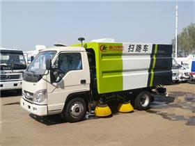 小型扫路车价格|福田扫路车价格|福田时代国五2方扫路车价格
