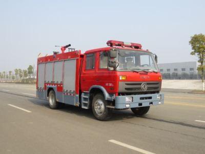 国五东风6吨泡沫消防车助力赣州市公安消防支队