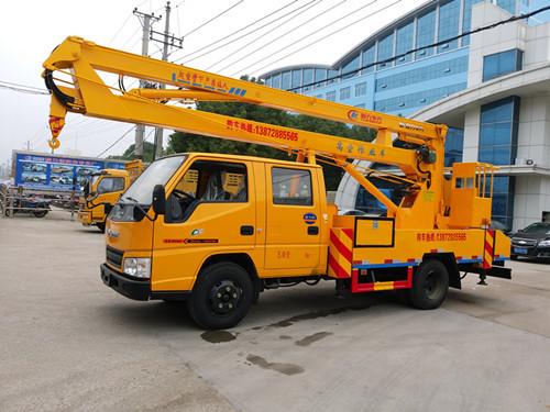 江铃国五14米高空作业车多少钱一辆|程力专汽厂家直销|现货供应|安全可靠