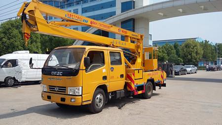 程力高空作业车 东风国五16米高空作业车厂家直销