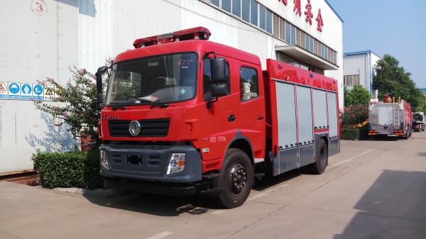 东风天锦6吨水罐消防车—一车多用 经济实惠