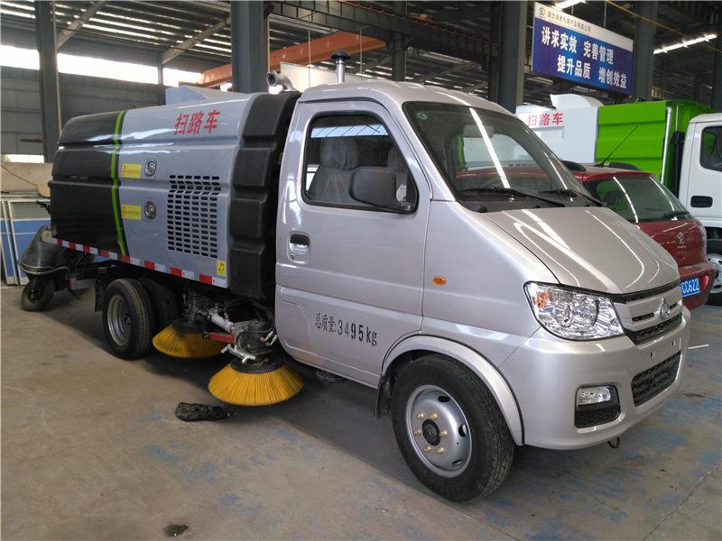 长安2990轴距扫路车价格_扫路车生产厂家
