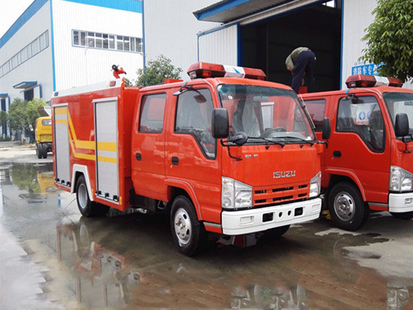 五十铃3吨泡沫消防车