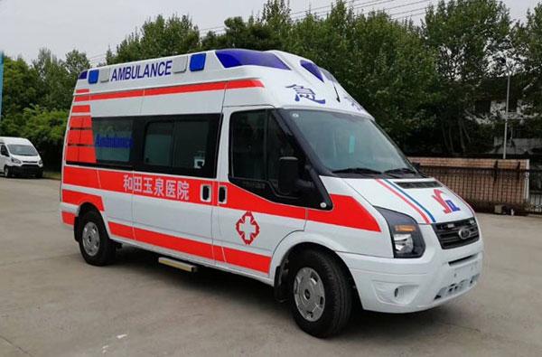 福特V348救护车厂家直销
