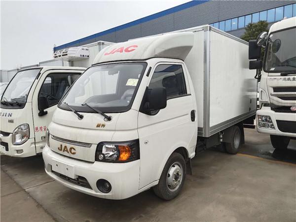 江淮康玲小型厢式冷藏车国五3.1米3吨蔬菜运输车首选