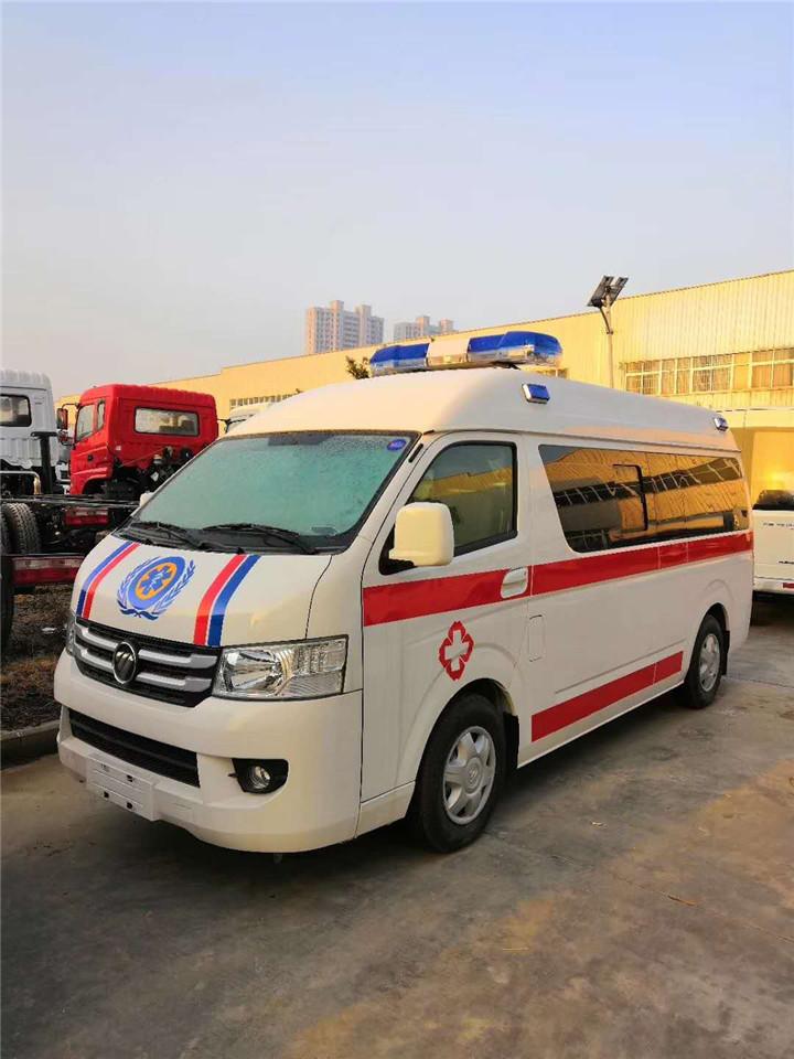 福田G7救护车监护型/福田G7救护车厂家价格