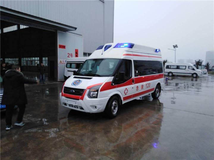 福特v348救护车/ v348救护车厂家价格/福特v348商运版监护型救护车