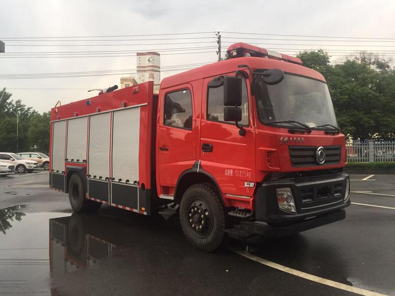 东风D913 6吨水罐消防车|消防车厂家