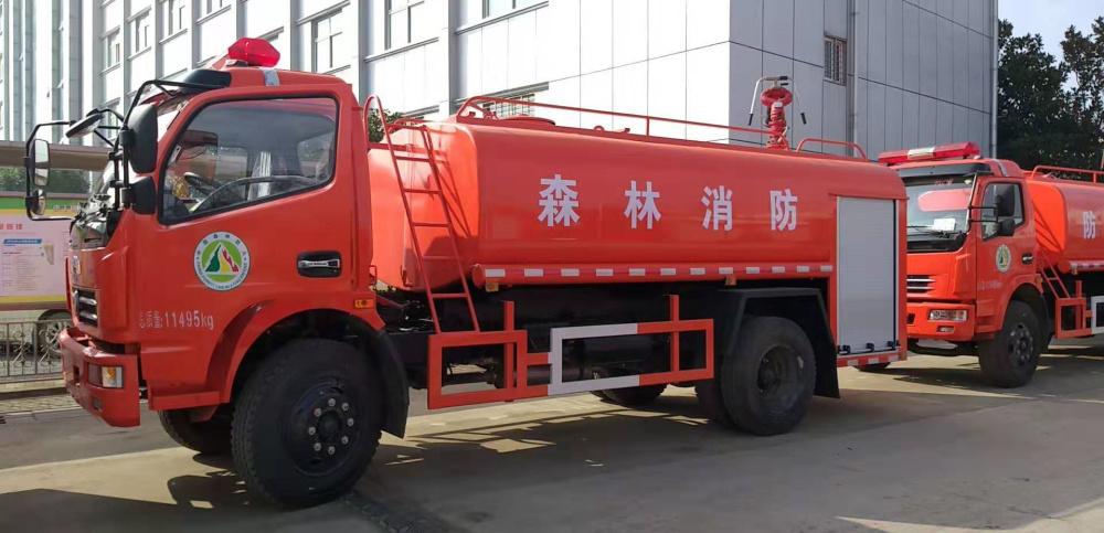 东风多利卡6.8吨消防洒水车|东风多利卡森林消防车
