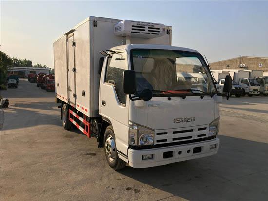 五十铃冷藏车,最畅销的4.2米蓝牌冷藏车