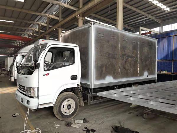 拉4吨爆破器材的东风多利卡防爆车厂家直销底价多少钱