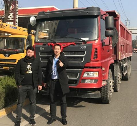 陕西时代天成汽车销售有限公司首单轩德X6交车仪式