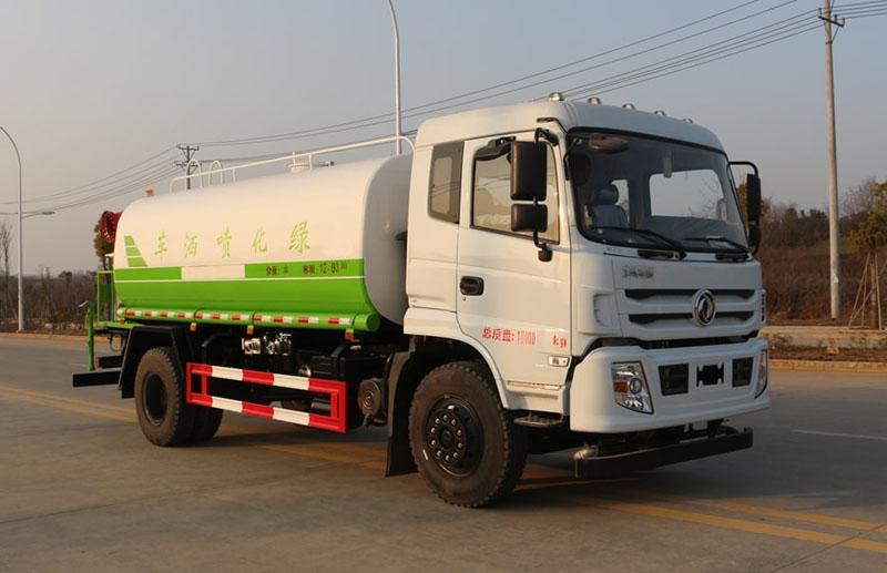 新款15吨东风华神T5洒水车最热销