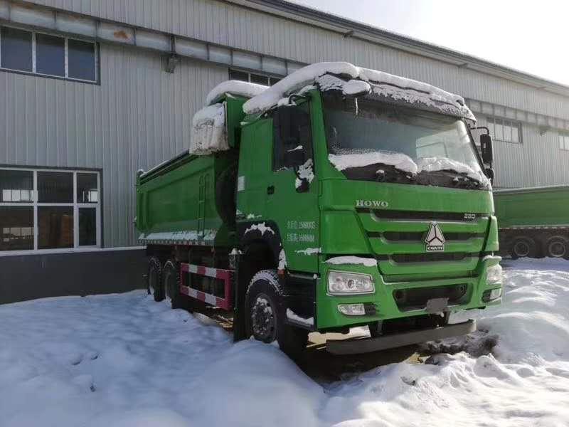 豪沃380马力5.8米渣土车