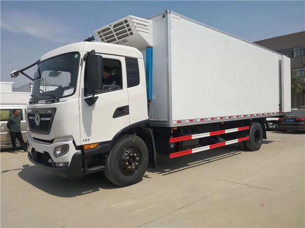 东风天锦中大型冷藏车7.8米带隔温板-冷藏车厂家直销直降8000元