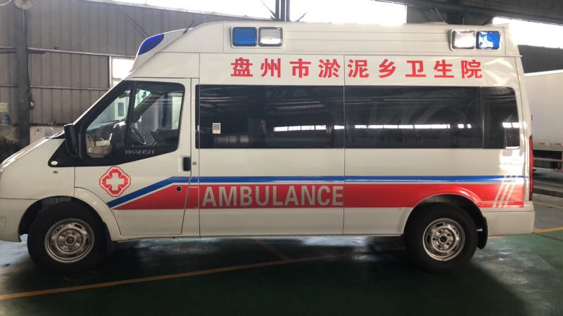 福特V348原厂高顶救护车厂家直销