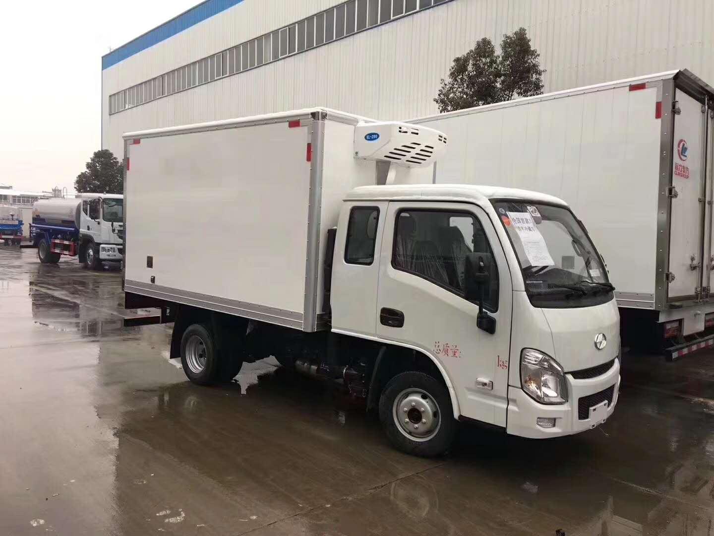 3米小型冷藏车价格-小型排半冷藏车-冷藏车报价-冷藏车厂家