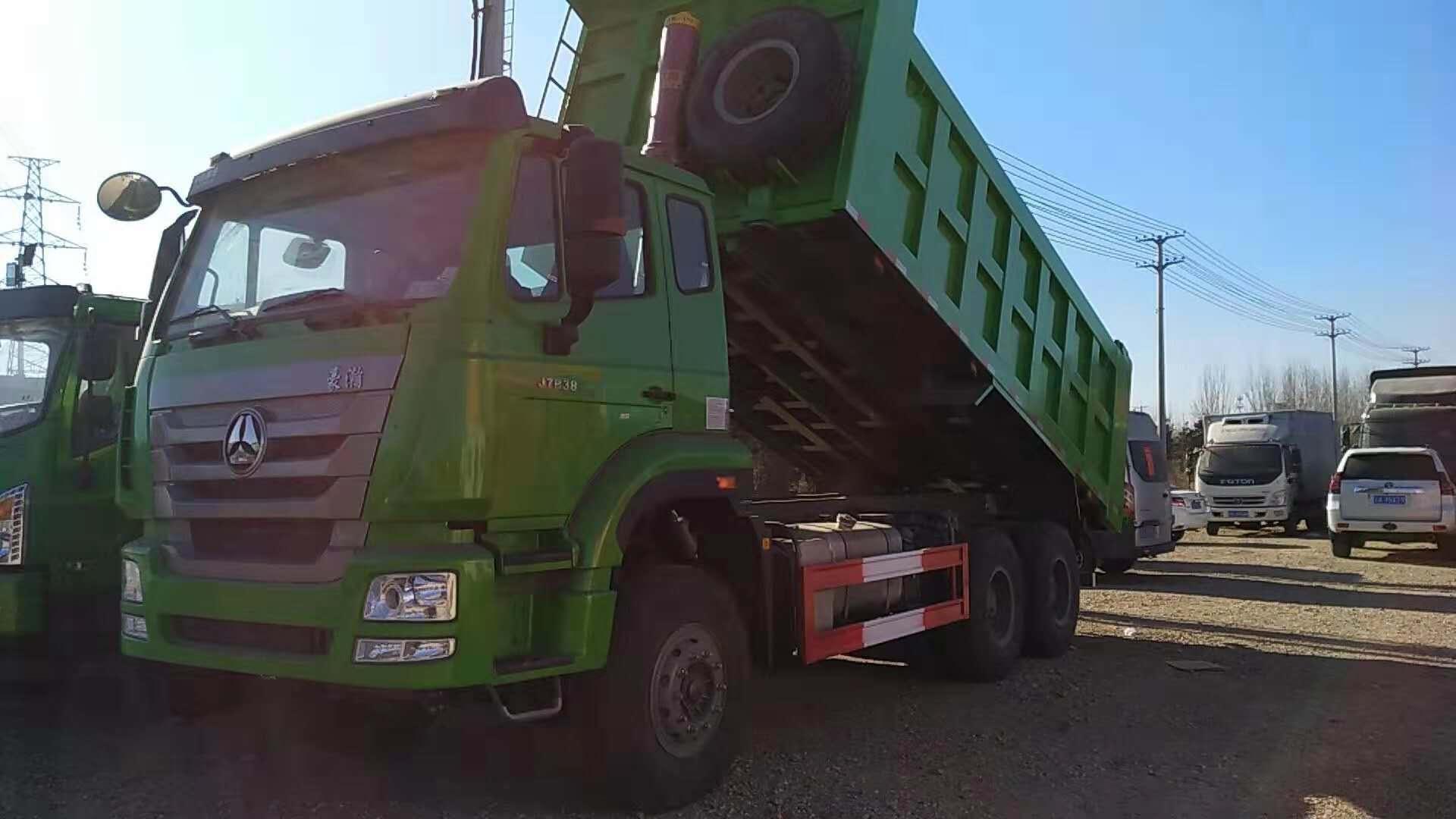 豪瀚国五5.8米自卸车