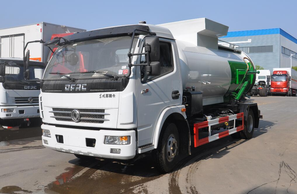 东风大多利卡7吨餐厨垃圾车/泔水车