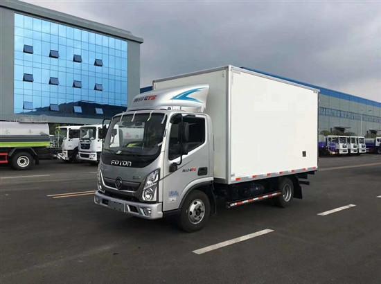 福田奥铃CTS冷藏车,4米2冷藏车厂家报价