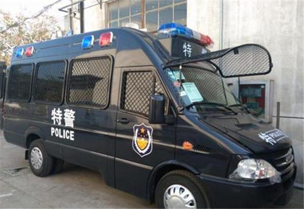 江铃福特15座运兵车/特警运兵车/运兵车生产厂家