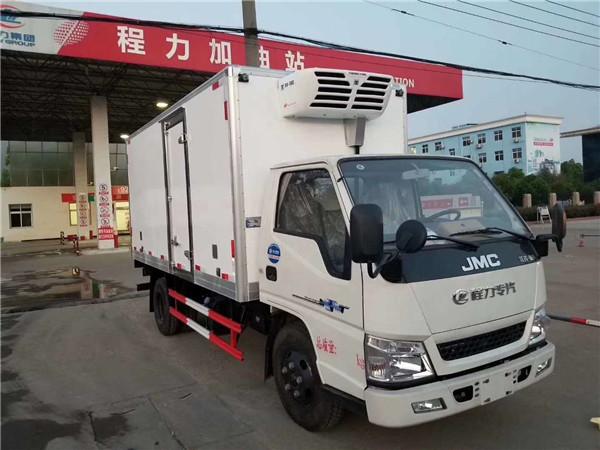江铃顺达4.2米中型冷藏车价格-蓝牌冷藏车-冷藏车报价-冷藏车厂家