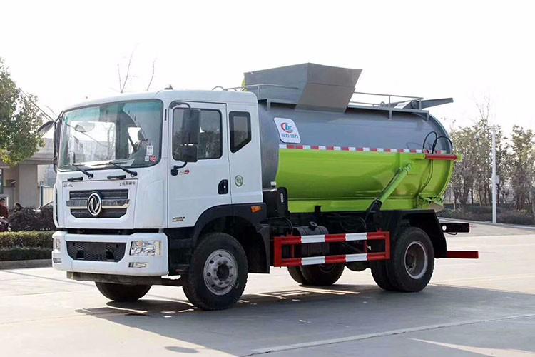 东风D9多利卡8方餐厨垃圾车|泔水车