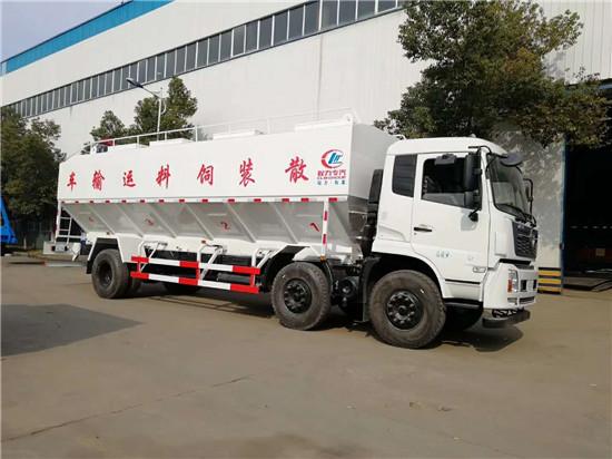随州28吨散装鉰料车厂家/鉰料运输车最低多少钱?