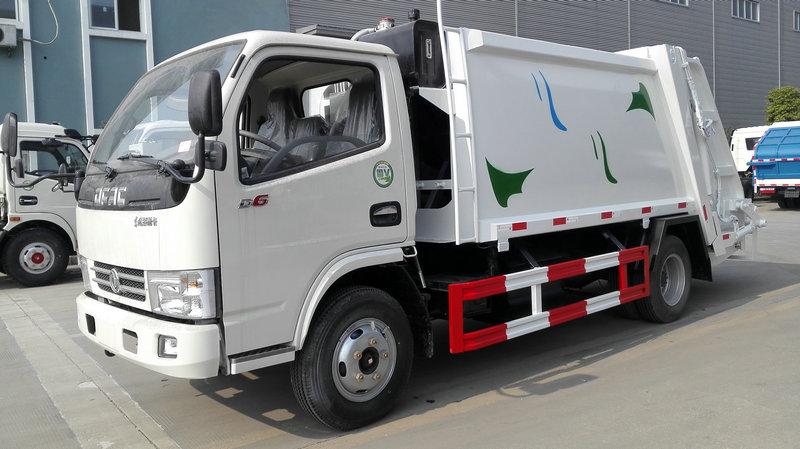 压缩式垃圾车厂家压缩式垃圾车标准配置和选装配置清单